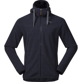 Bergans Hareid Fleece Jacket Herre dark navy melange